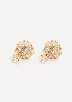 Stud & Sphere Earrings