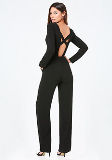 Crisscross Back Jumpsuit