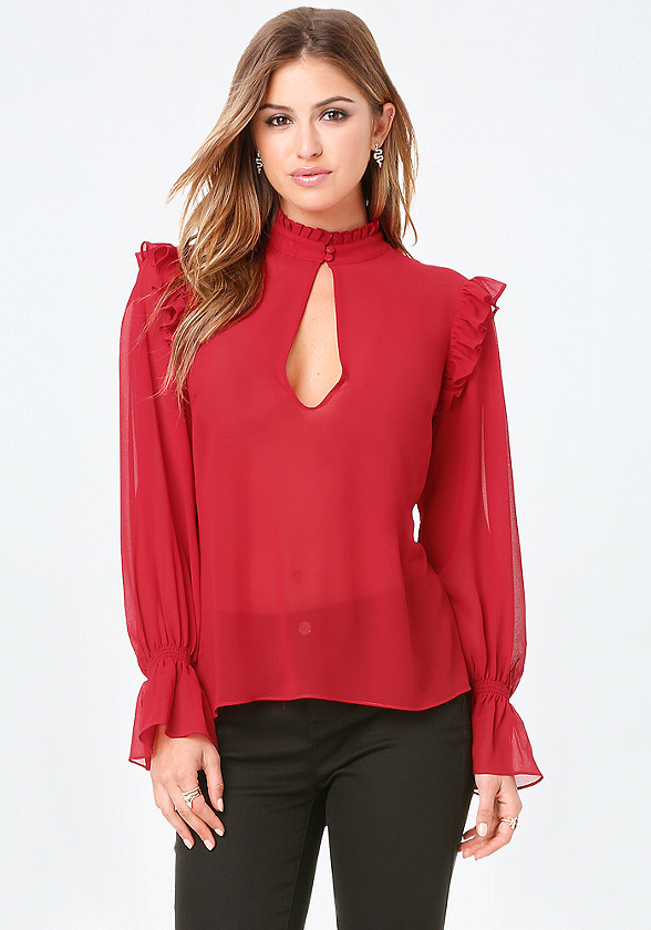Romantic Ruffle Top