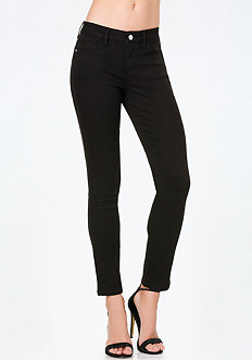 Clean Black Skinny Jeans