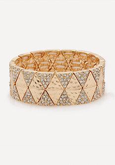 Crystal Geo Bracelet