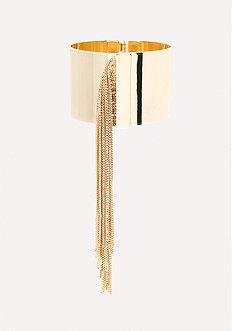 Metal Fringe Bracelet