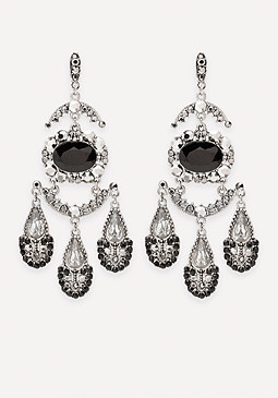 bebe Dramatic Bauble Earrings