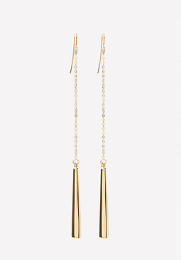 bebe Linear Drop Earrings