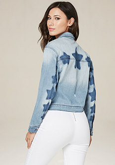 Star Wash Denim Jacket