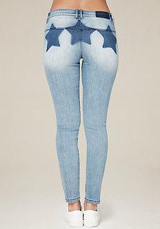 Star Wash Skinny Jeans