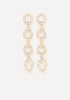 Chainlink Linear Earrings
