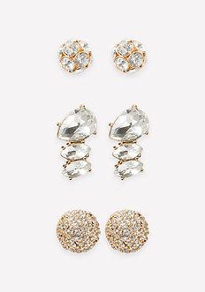 Sparkling Earring Set
