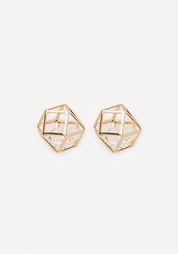 bebe Cage Stud Earrings