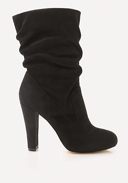 bebe Tifaany Ruched Booties