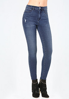 Bi-Stretch High Rise Jeans