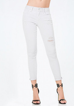 Torn Heartbreaker Jeans at bebe