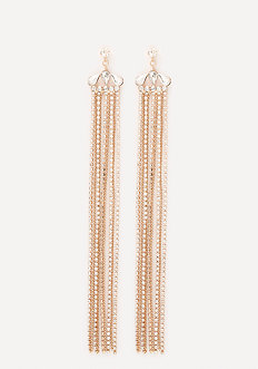 Glam Fringe Duster Earrings
