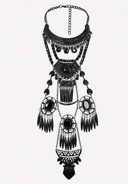 bebe Dramatic Statement Necklace