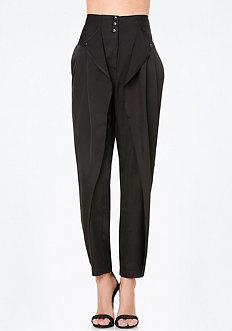 High Waist Parachute Pants