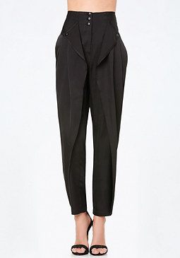 bebe High Waist Parachute Pants