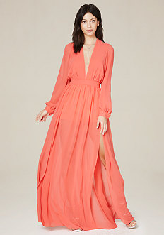 Double Slit Shorts Gown