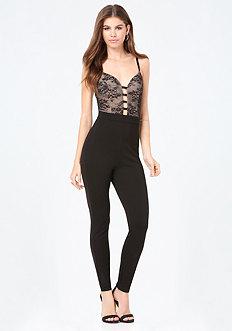 Cooper Lace Jumpsuit