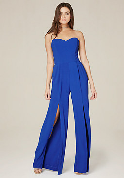 bebe Strapless Jumpsuit