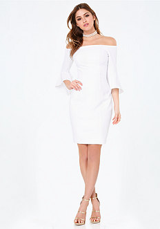 Sarah Off Shoulder Dress