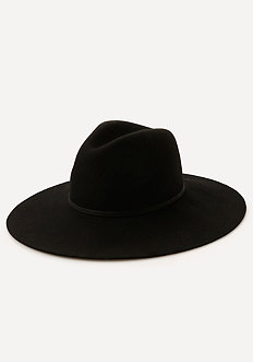 Banded Wide Brim Hat