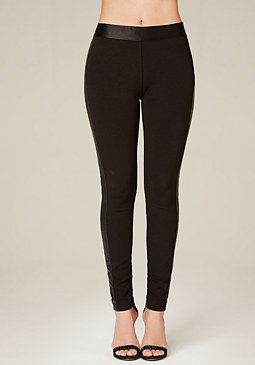 bebe Basic Tux Leggings