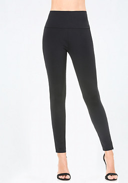 bebe Zip Trick High Leggings