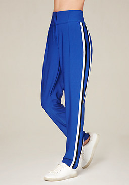 bebe High Waist Racer Pants