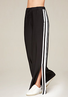Ankle Slit Track Pants