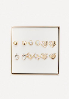 Logo Princess Earring Set