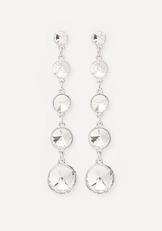 Crystal Linear Earrings