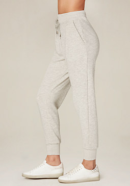bebe French Terry Jogger Pants