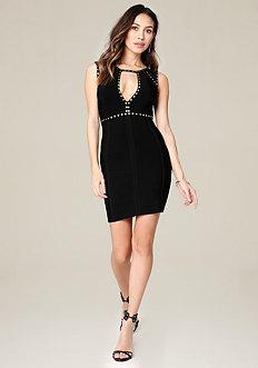 Caleigh Studded Dress