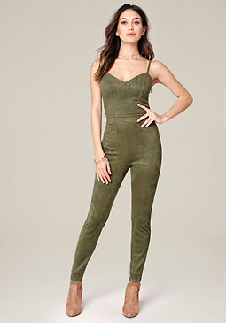 bebe Camryn Strappy Jumpsuit
