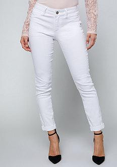 White Heartbreaker Jeans