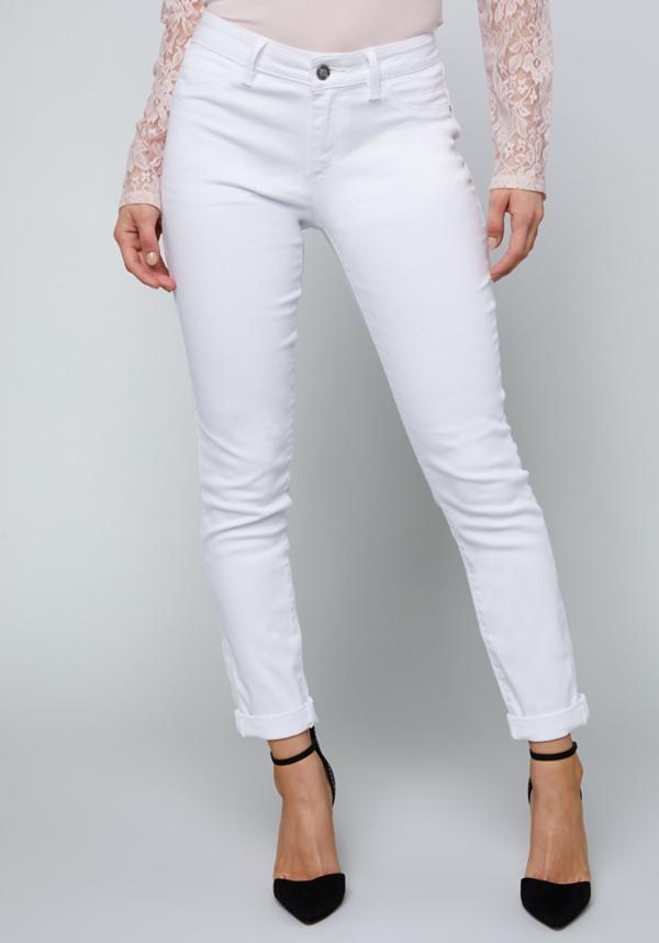 White Heartbreaker Jeans | Tuggl