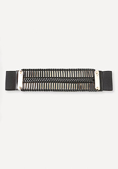 Wrapped Metal Plate Belt