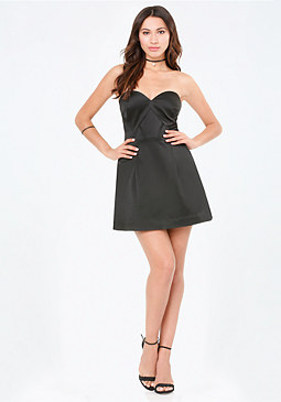 bebe Angela Sweetheart Dress