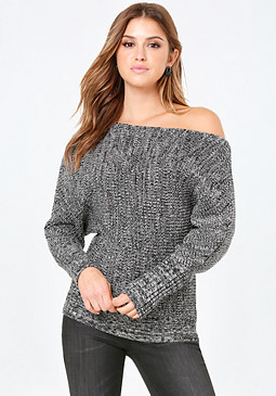 bebe Dolman Sleeve Sweater