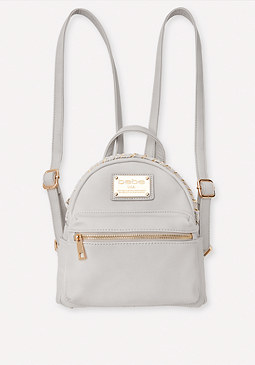 bebe Braid Trim Mini Backpack