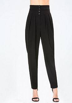 Petite High Waist Trousers