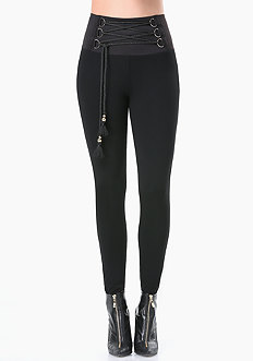 Petite Corded High Leggings