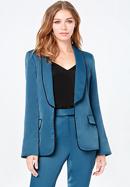 Shawl Collar Blazer at bebe