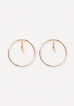bebe Delicate Open Stud Earrings