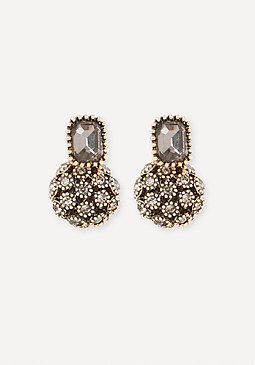 bebe Glam Ball & Stud Earrings