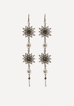 bebe Crystal Star Earrings