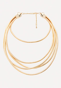 bebe Omega Chain Necklace