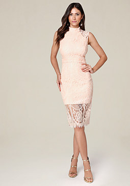 bebe Tammy Lace Dress