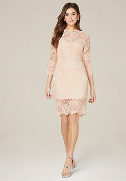 bebe Liv Lace Dress