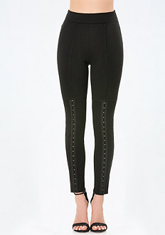 Hook & Eye Trim Leggings